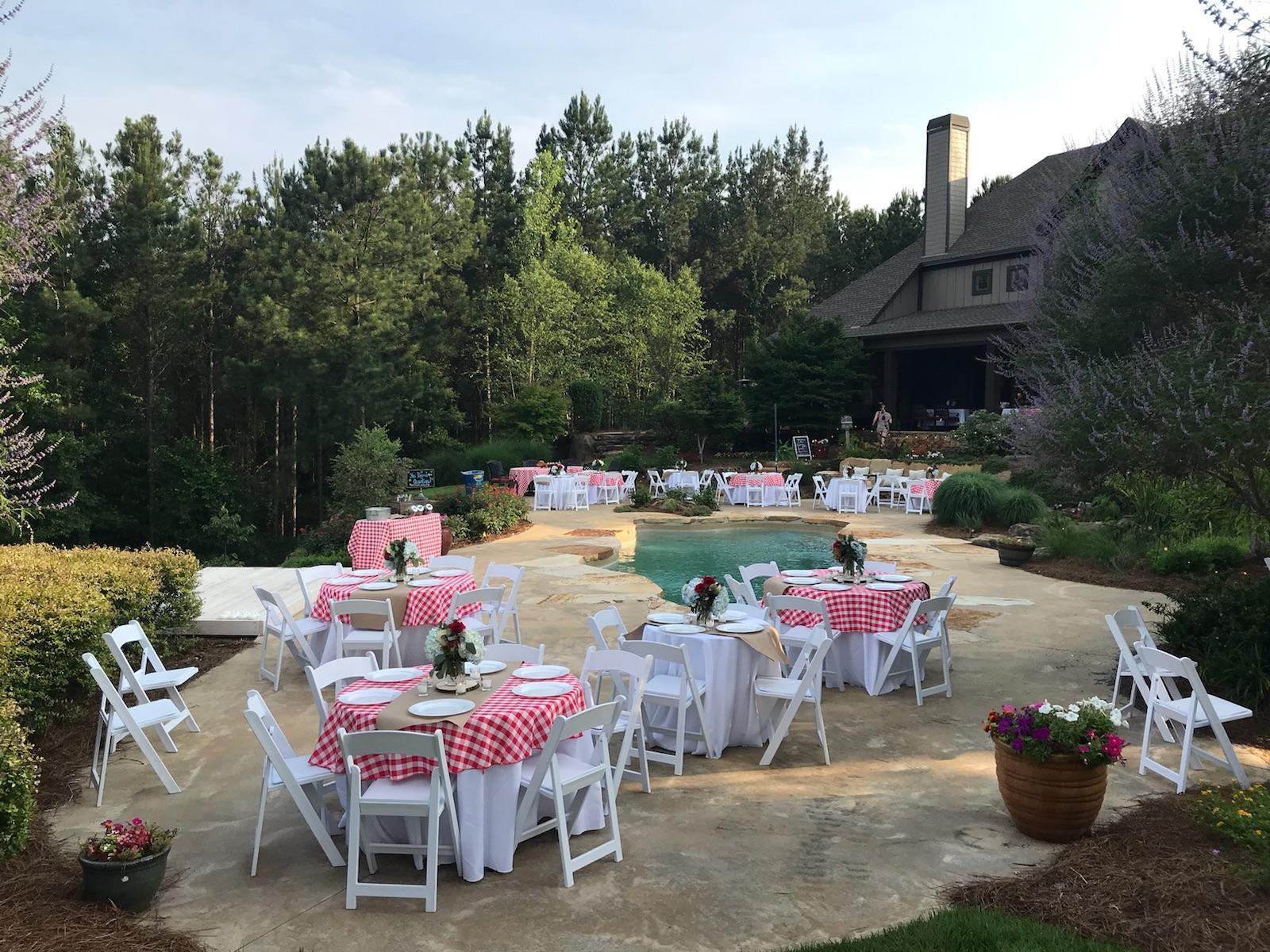 Backyard Party Setup