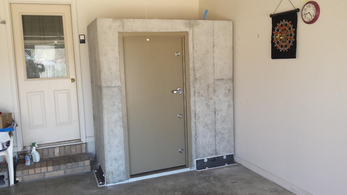 Quality In-Garage Safe Room