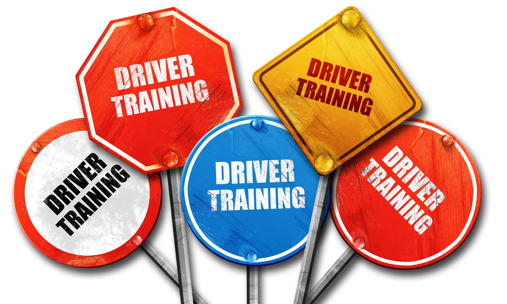 Driver Training Signboard