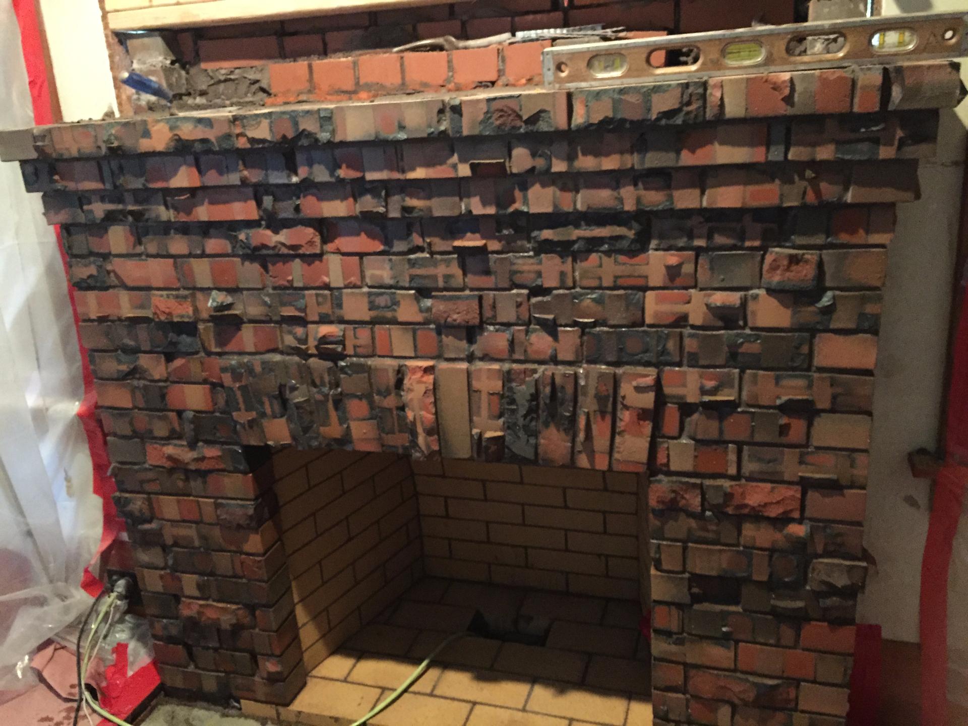 Fireplace facade Napa, CA