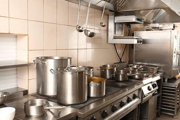 Kitchen in Restaurant
