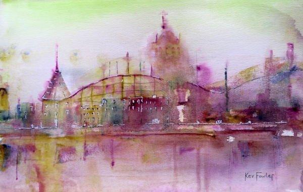 Fairground Attractions - Watercolour/Ink