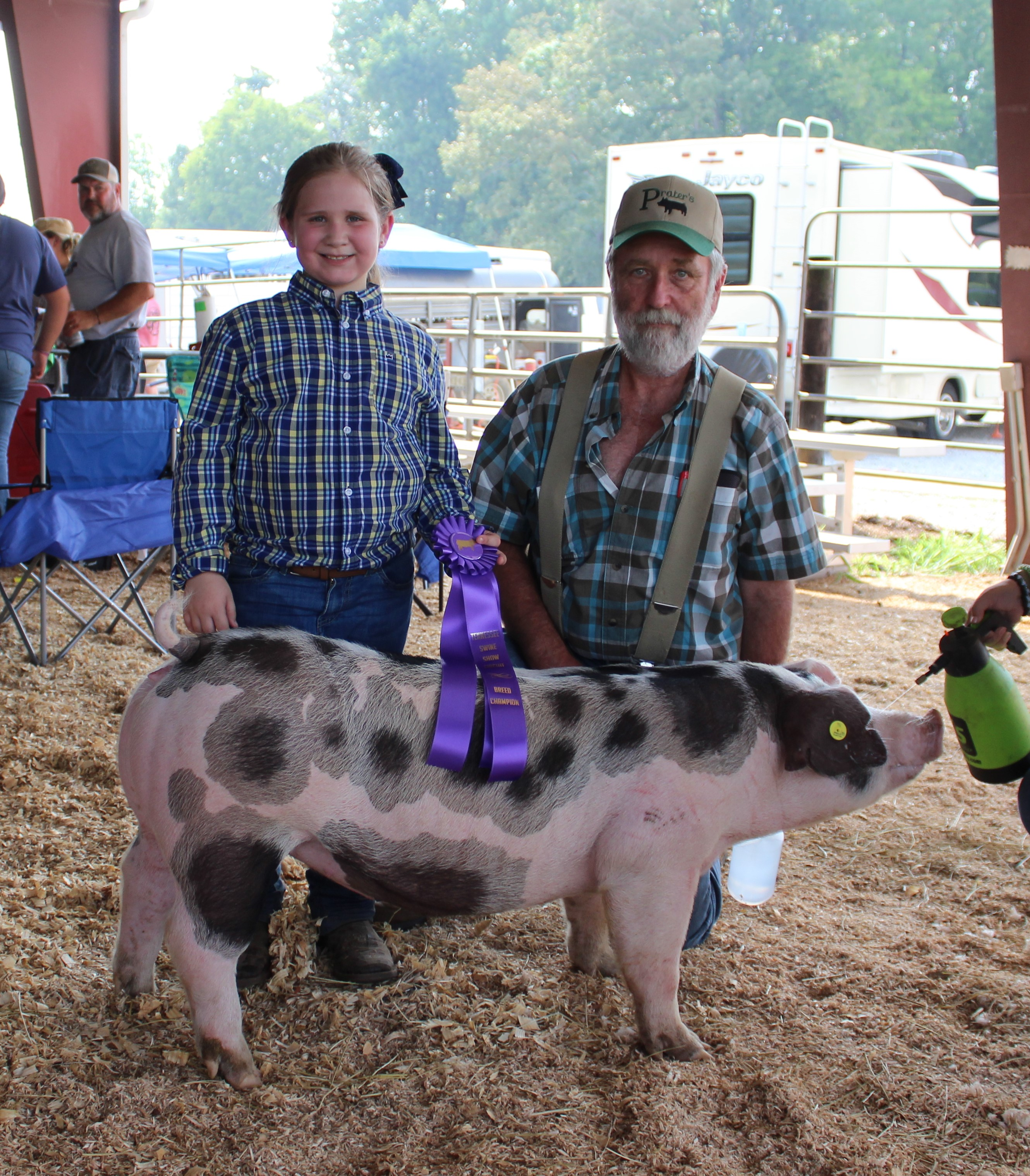 Josie Bell Harville Smith County Swine Shootout Champion Spot Gilt
