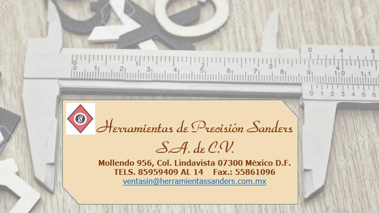 HERRAMIENTAS DE PRESICION SANDERS SA DE CV