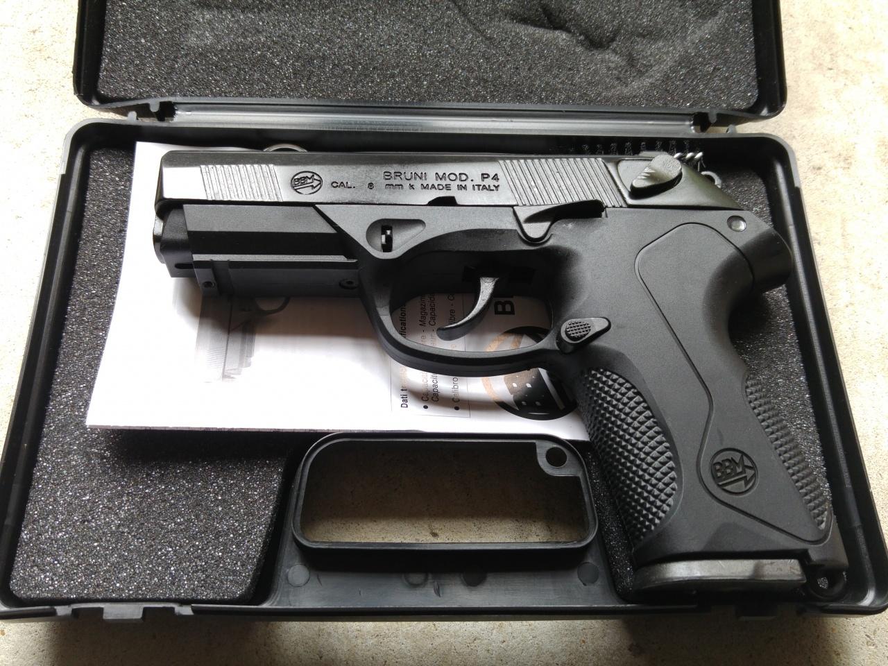 PFCGUK Ltd - Bruni Beretta P4 8mm blank firer