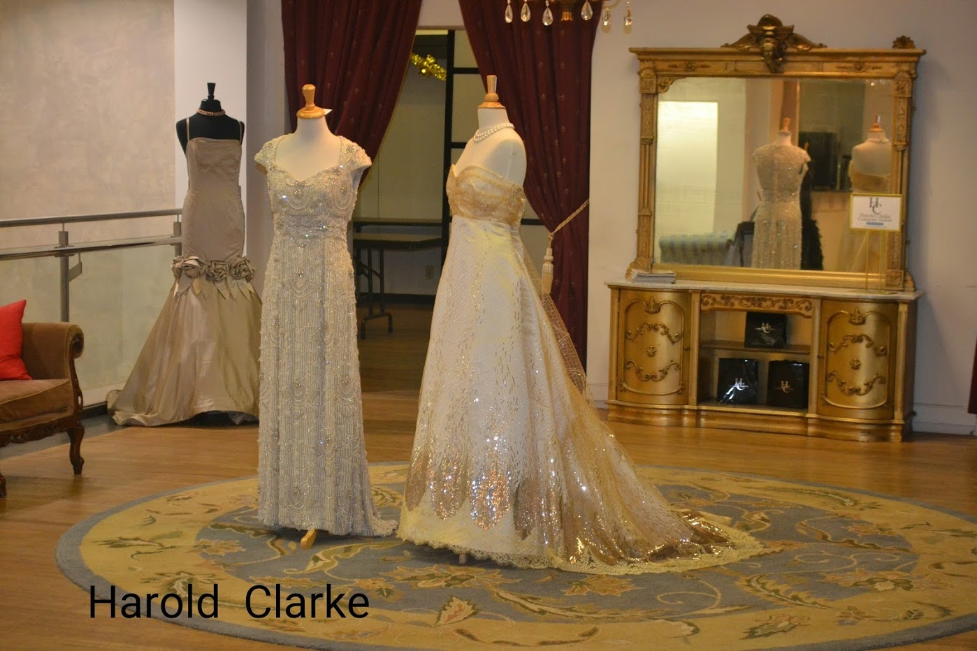 Beautiful Gown By Harold Clarke