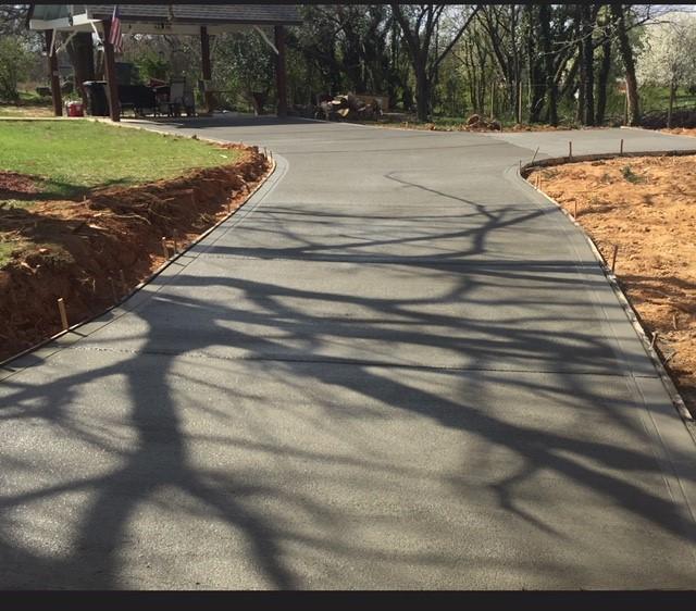 Home Concrete Driveway