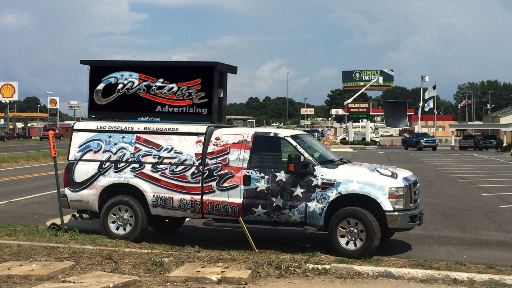 Call 501-847-1000 to reserve YOUR Custom Ad Space.