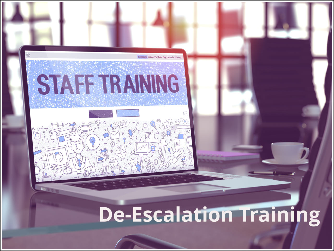 Remote Staff Training Provided through our eLearning