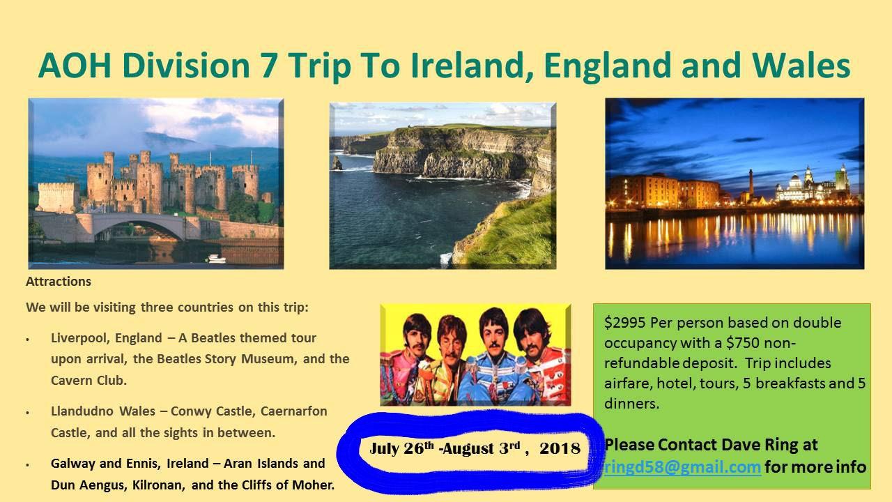 Division Ireland Trip