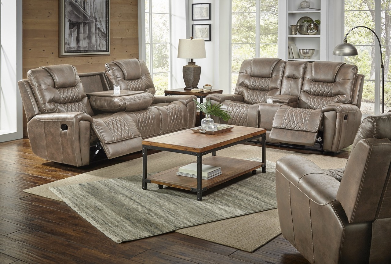 98807 Reclining Sofa & Loveseat