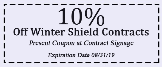 10% Off Winter Shield Contracts