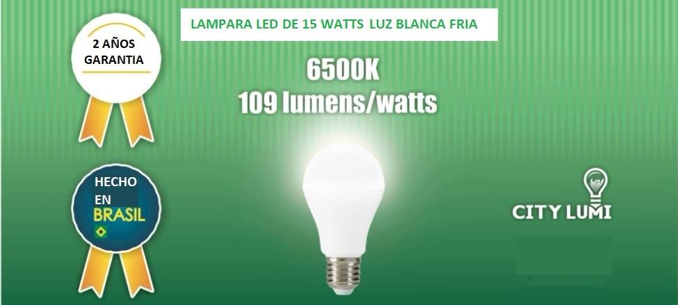 Foco LED luz blanca de 9 watts