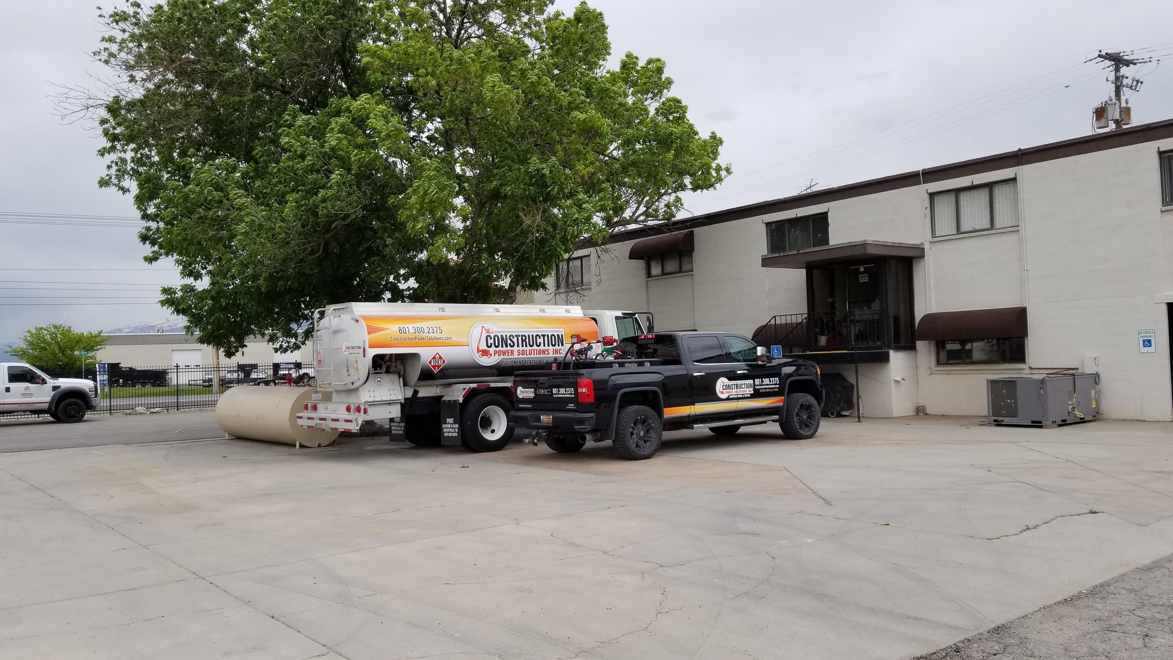 Equipment Rental Truck and Van