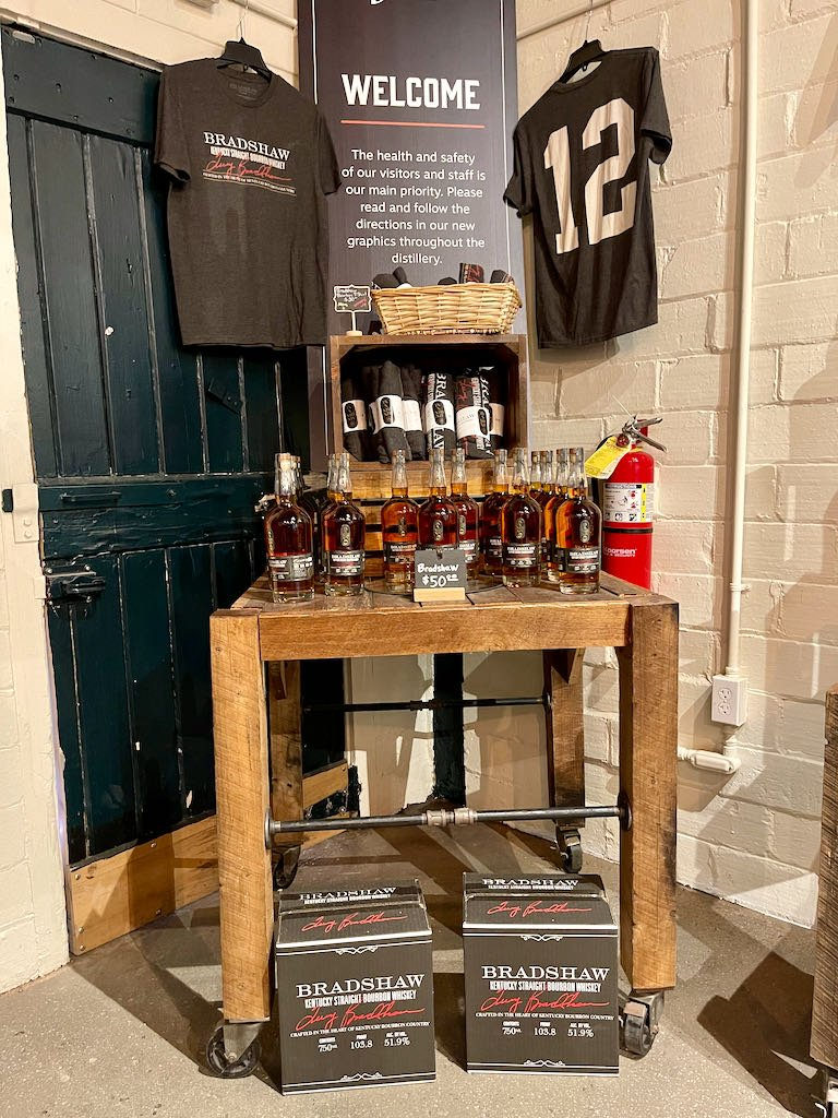 Bottles Available for Purchase in Gift Shop - Green River Distilling Co