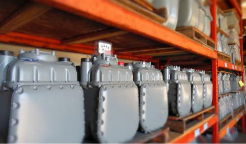 Different Gas Meters