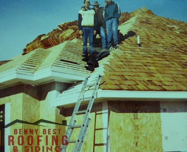 Partially Done Roof Repair Works