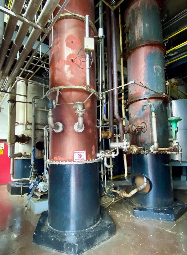 Old Column Stills - Barton 1792 Distillery