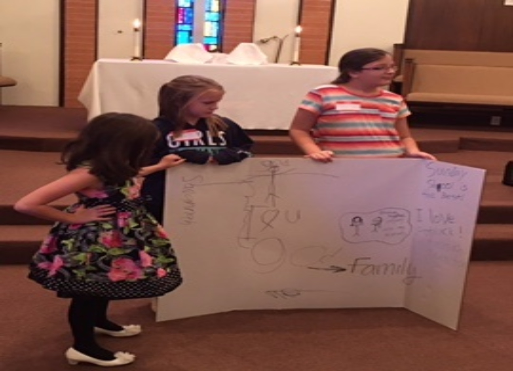 Girls telling us why church is important to them  Pack the Church, Oct. 29, 2017