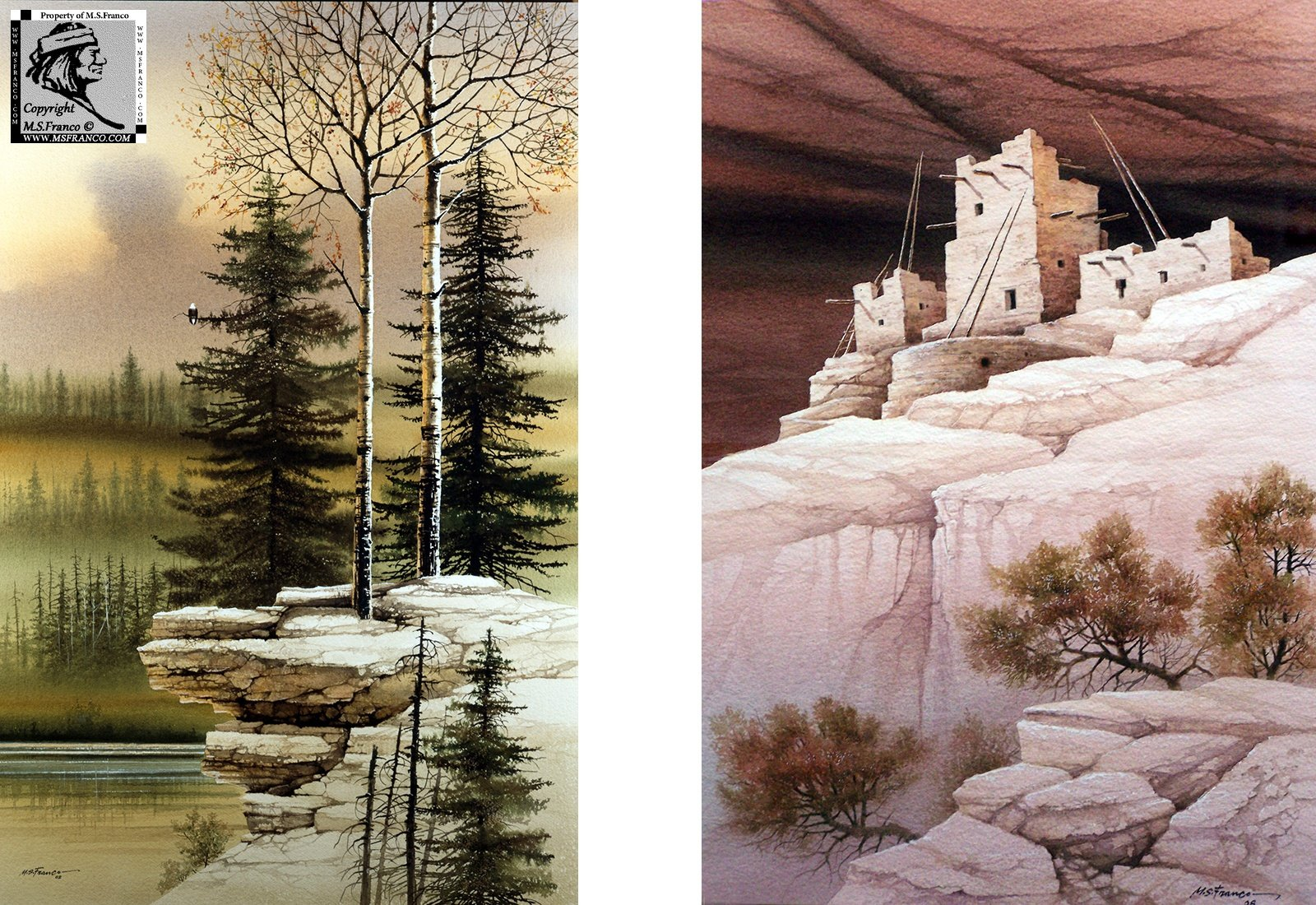 """Guardian of the Forest"" and ""Cliff Dwellers"""