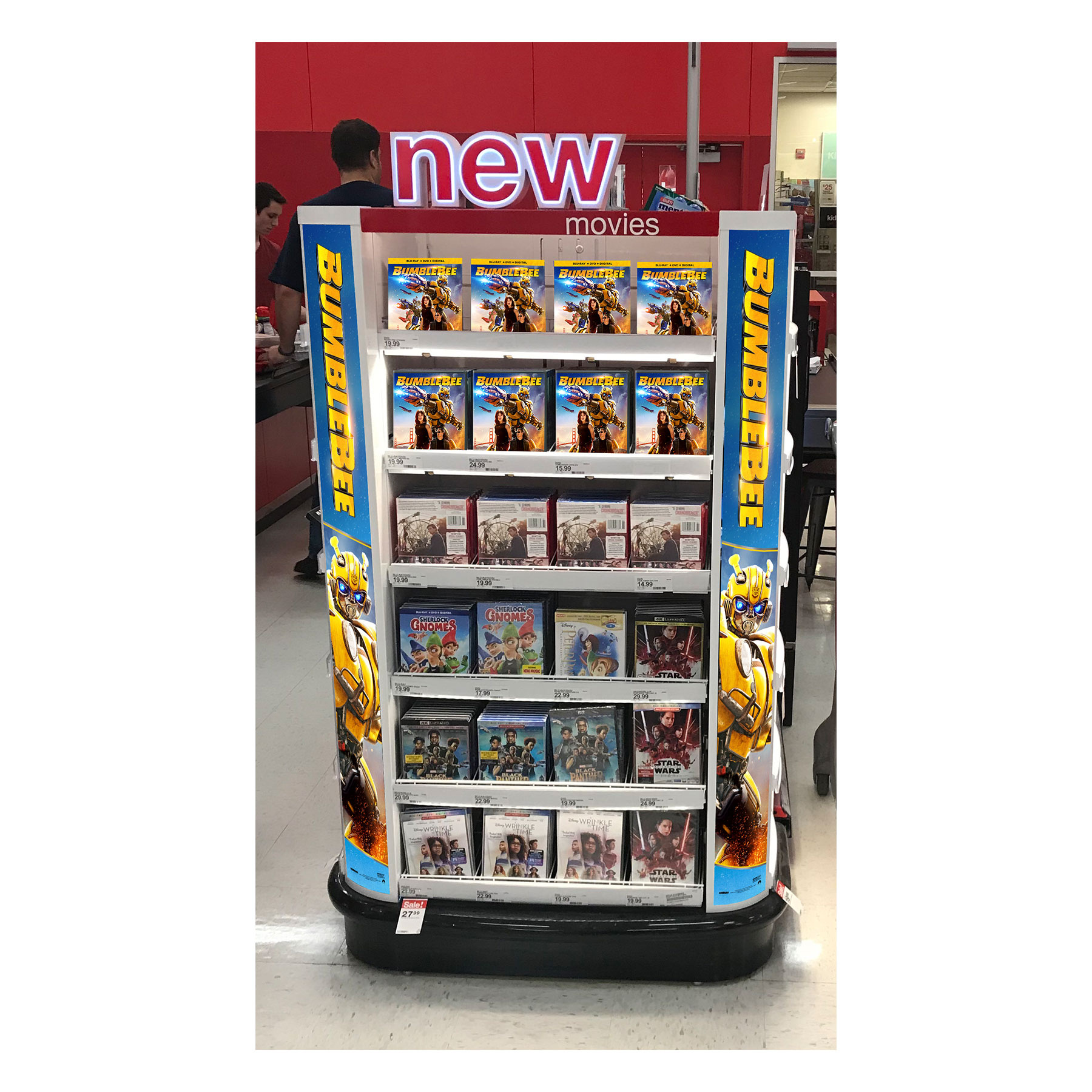 BumbleBee Target Checklane Display