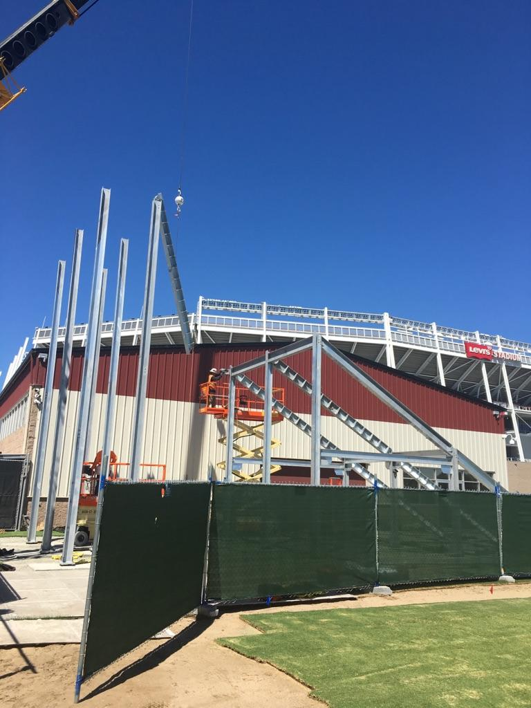 49ers Construction Process 4
