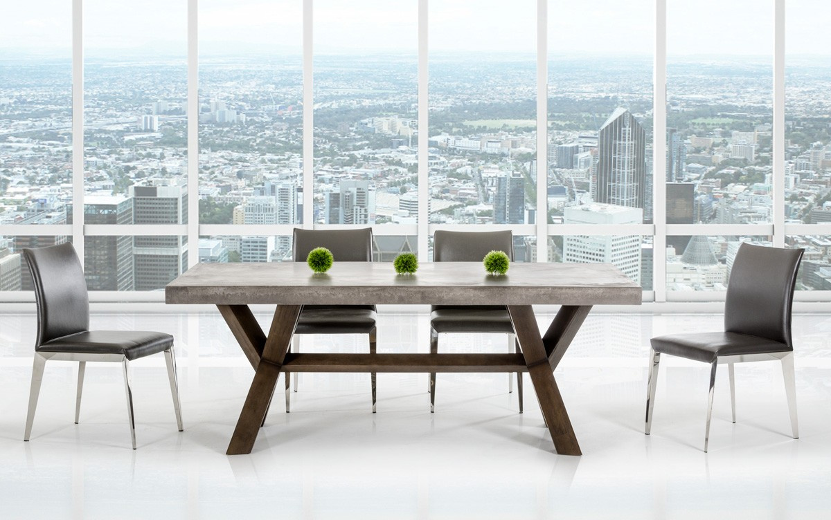 Urban Concrete Dining Vig Furniture