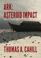 """Ark: Asteroid Impact"" book cover"