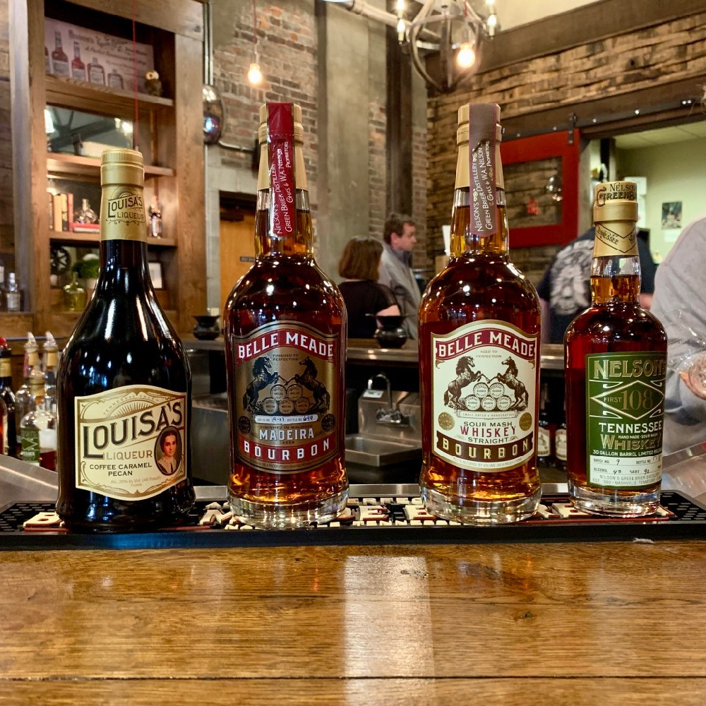 Nelson's Green Brier Distillery Tasting Bar