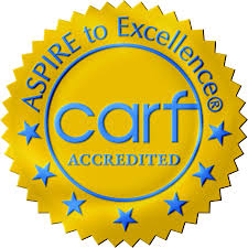 Image result for CARF logo