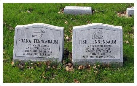 Pet Tombstones