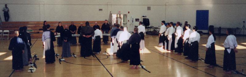 IBF Taikai - San Diego 2001. Awards Presentation.