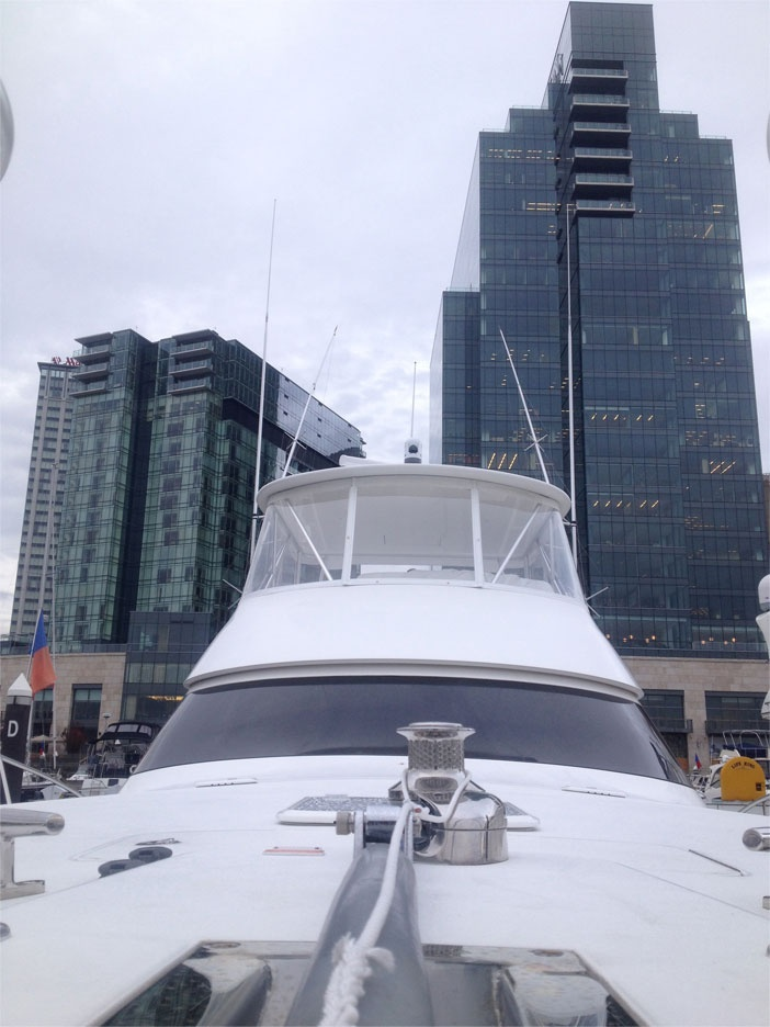 Yacht Front View