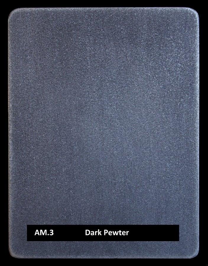 Metal finishes - metal coating AM.3 Dark Pewter
