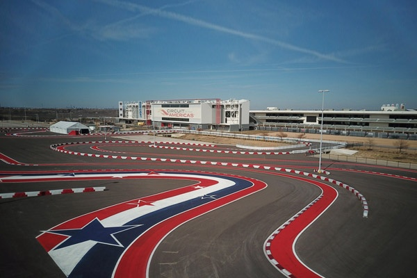 Circuit Of Americas Formula1 Track