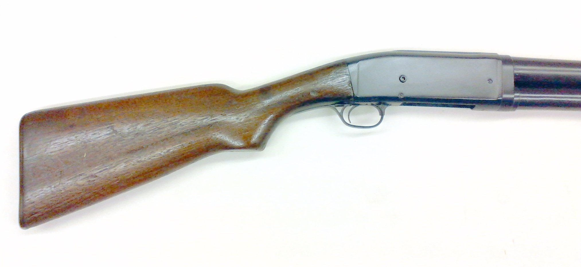 We cerakoted this Remington model 11 with Socom blue, we also did extensive internal work to the action to bring it to working condition.