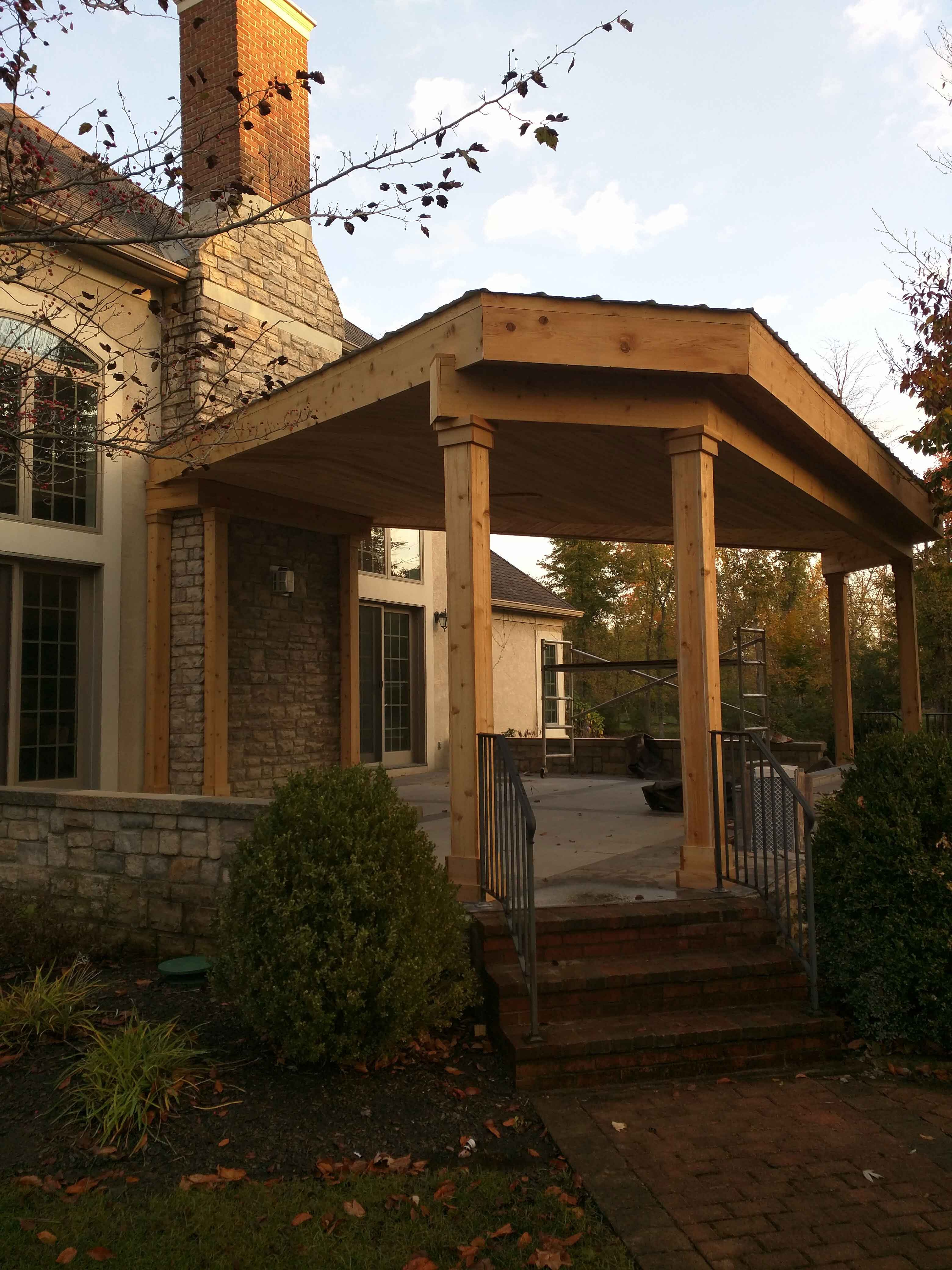 Country-Style Patio