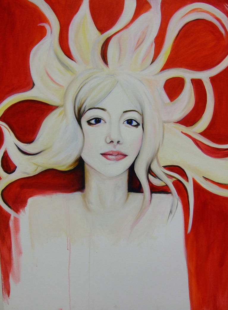 Comfortably Numb | Medusa, Oil on Canvas, 2010.