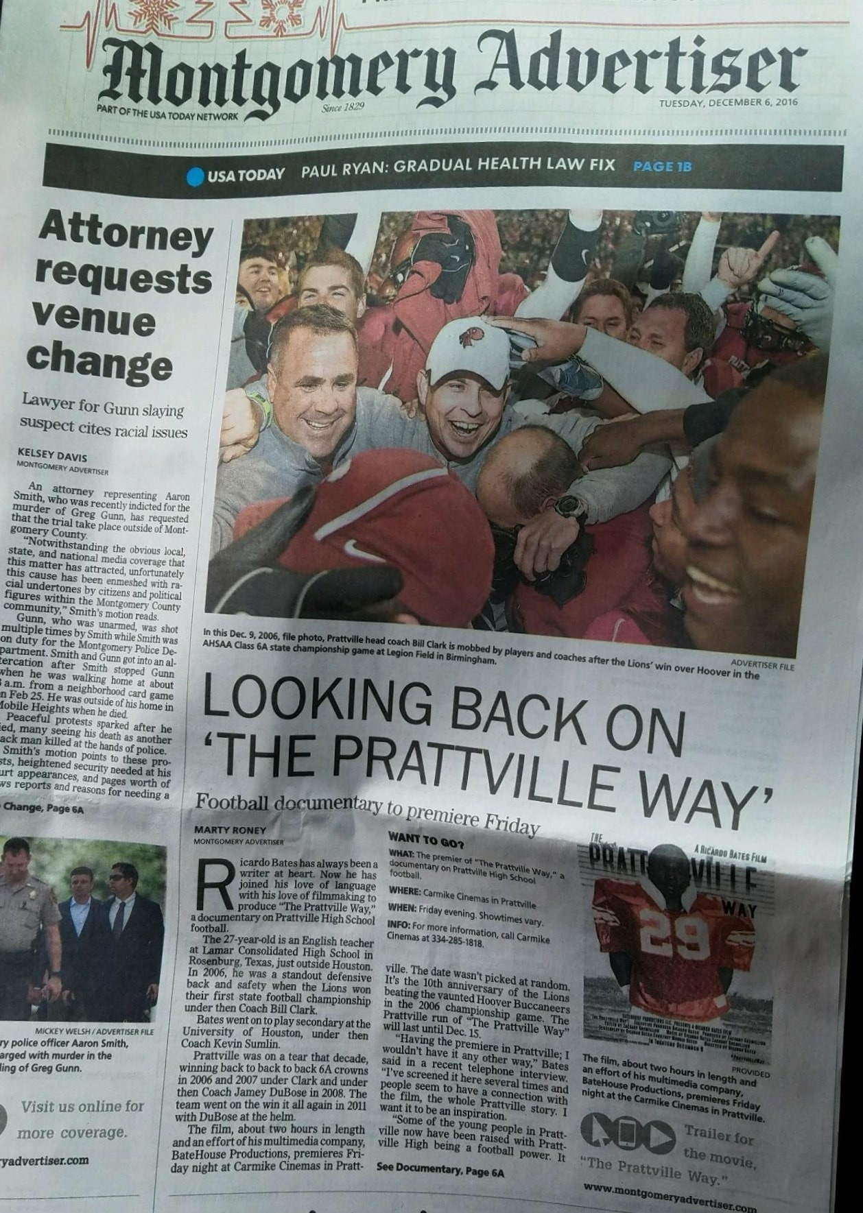 The Prattville Way NewspaperArticle