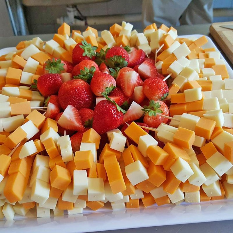 Strawberries and Cheese