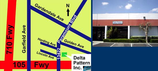 Delta Pattern, Inc. - Call us at 562-529-2196