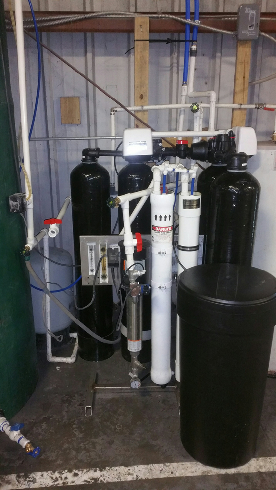 Reverse Osmosis System Installed