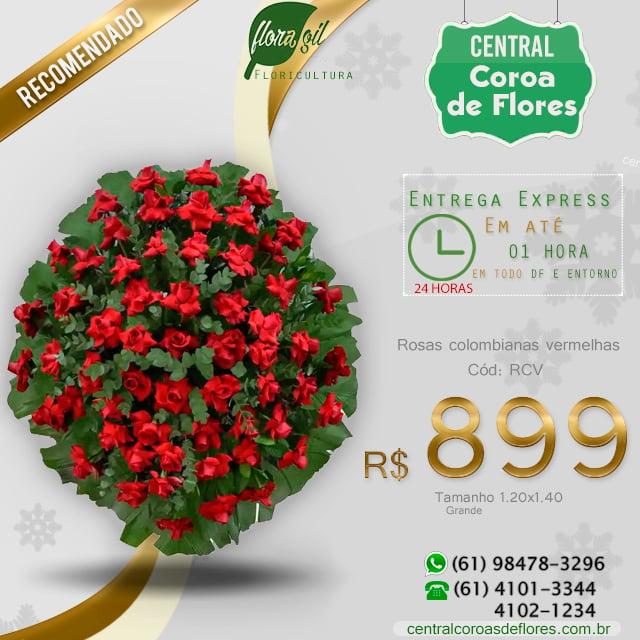 coroa de flores brasilia