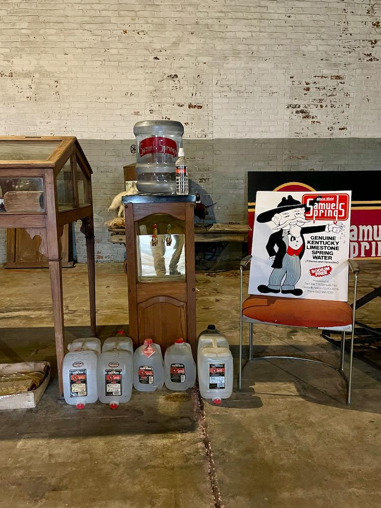 Museum Items - Samuel Springs Water - Old Samuels Distillery