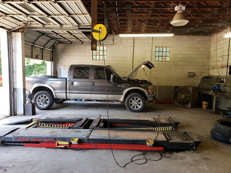 Auto Repair Area