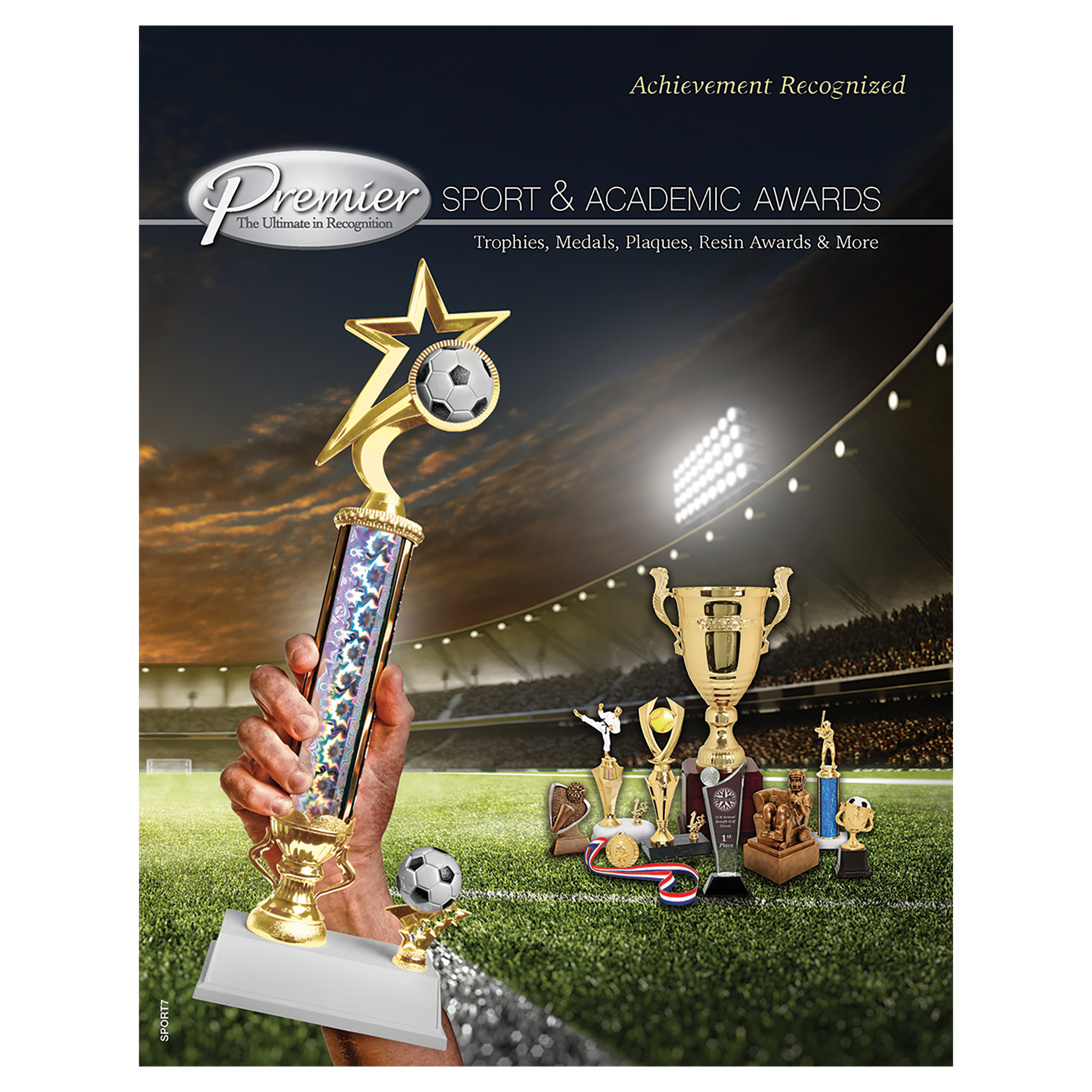 Premier Sports Trophies,  Resins & Medals Click for catalog