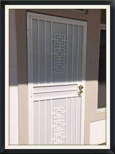 Dynasty Steel Screen Door