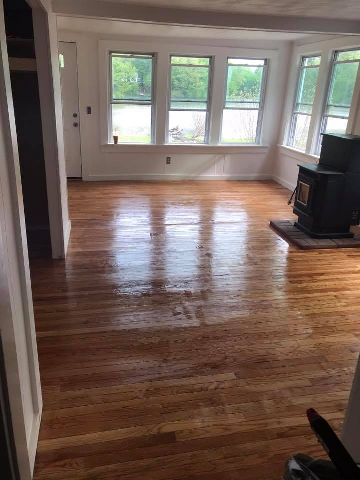 Shiny Wood Flooring