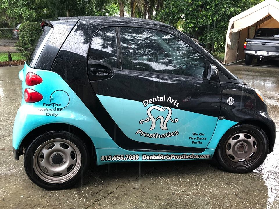 Dental Arts Prosthetics Car