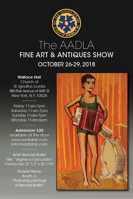 Another image of the AADLA flyer with girl playing an accordion